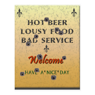 Truth in Advertising Post Cards