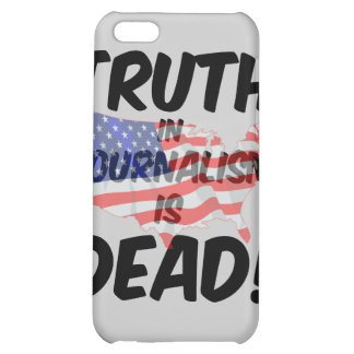 truth in journalism is dead iPhone 5C cover
