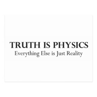 Truth is Physics.pdf Postcard