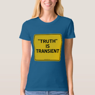 """""""TRUTH"""" IS TRANSIENT T SHIRTS"""