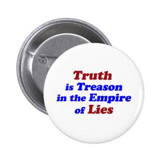 Truth is Treason Pins