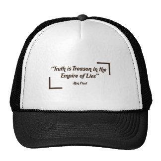 TRUTH-IS-TREASON TRUCKER HAT