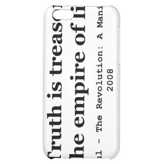 Truth is Treason in the Empire of Lies Ron Paul iPhone 5C Cases