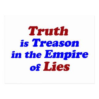 Truth is Treason Postcard