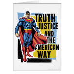 Truth, Justice Greeting Card