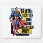 Truth, Justice Mouse Pad