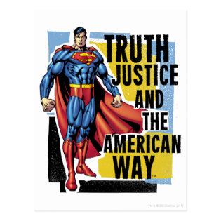 Truth, Justice Postcard