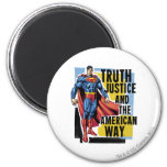 Truth, Justice Refrigerator Magnet