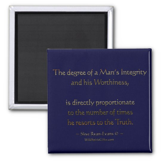 """TRUTH"" literary Motivational Magnet"
