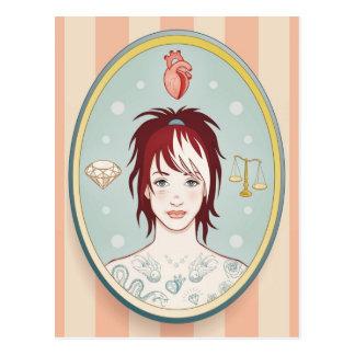 Truth, Love, Beauty Postcard