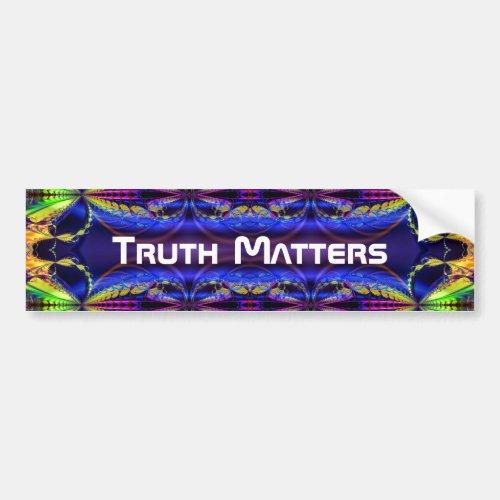 Truth Matters 1 Bumper Sticker