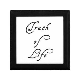 Truth of Life Design Keepsake Box