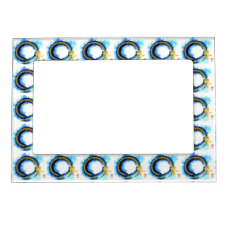 Truth on the Edge of Center Enso Photo Frame Magnet