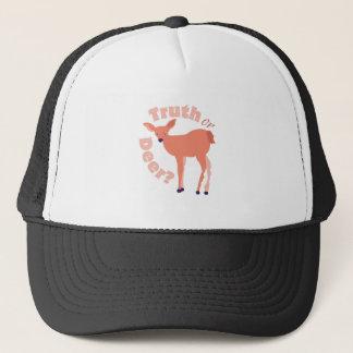 Truth Or Deer Trucker Hat