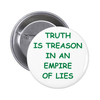 truth pinback button