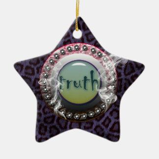 Truth Portal Ceramic Ornament