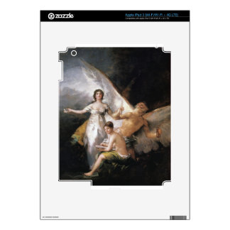 Truth Rescued by Time, Witnessed by History iPad 3 Skin