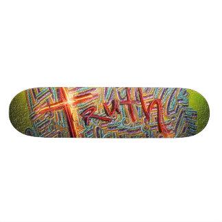truth custom skate board