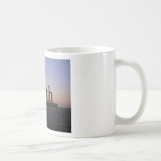 Truth sunset cross mug