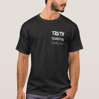 TRUTH TRANSCENDS MENS BLACK TEE