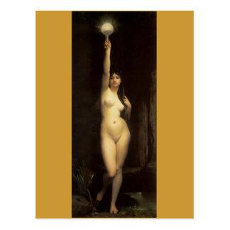 Truth - Vintage famous paintings - Lefebvre Postcard