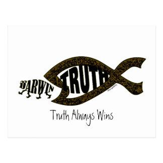 Truth Wins Again Postcard