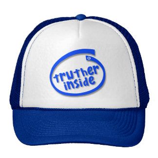 Truther Inside Trucker Hat