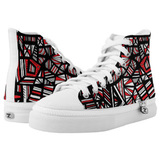 Truthful Compassionate Modest Appealing Printed Shoes