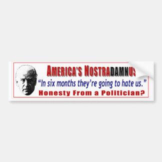 Truthful Joe Biden Bumper Stickers