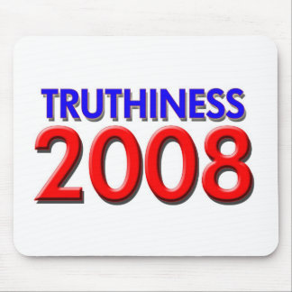 TRUTHINESS 2008 MOUSE PAD