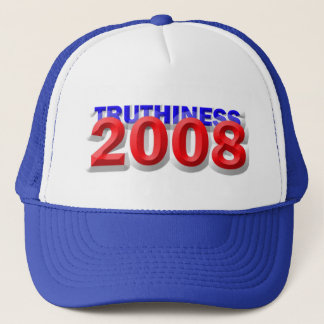 TRUTHINESS 2008 TRUCKER HAT