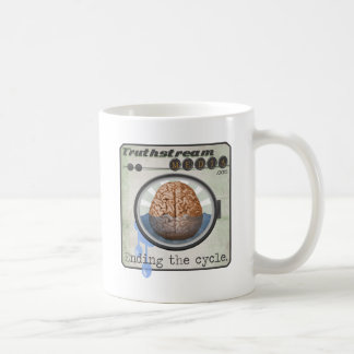 Truthstream Media Brainwashing Logo Coffee Mug