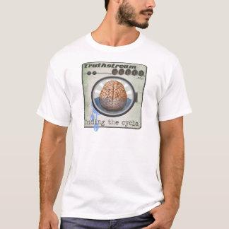 Truthstream Media Brainwashing Logo T-Shirt