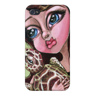 Try A Little Turtleness Hard Shell Case for iPhone iPhone 4 Covers