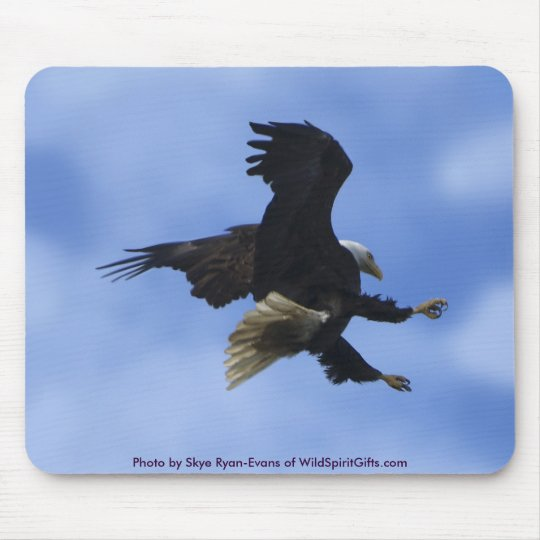 """""""TRY ANYWAY"""" EAGLE Series Mouse Pad"""