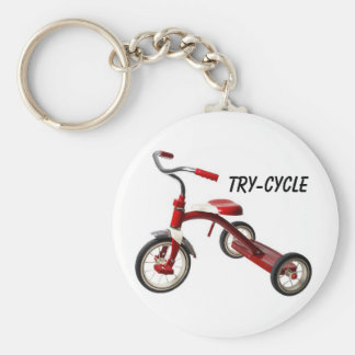 try-cycle keychain