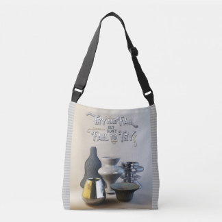 Try & Fail But Don't Fail to Try Stylish Pottery Crossbody Bag