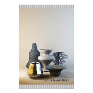 Try & Fail But Don't Fail to Try Stylish Pottery Stationery
