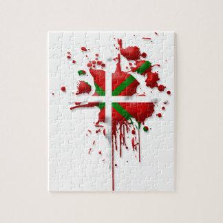 try flag Euskadi Basque Jigsaw Puzzle
