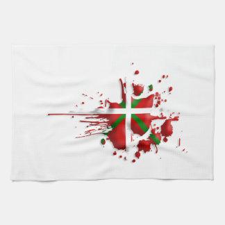 try flag Euskadi Basque Towel