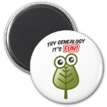 Try Genealogy Magnets