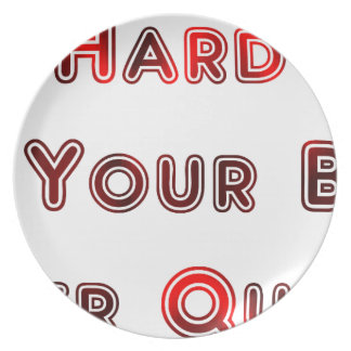 Try hard melamine plate