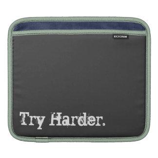 Try Harder/Space Octopus IPad Sleeve