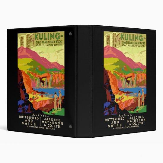 Try Kuling China Premier Health Resort Binder