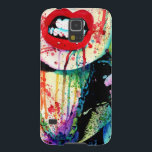 "Try Me - Pop Art Rainbow Horror Portrait Case For Galaxy S5<br><div class=""desc"">Try Me by Carissa Rose, originally done with watercolors and markers/fountain pens on bristol board. Carissa Rose is a 20 year old artist out of Chicago IL. Her work is inspired by underground culture, tattoos, graffiti, and music. She works in traditional mediums, mostly pencils and watercolors. To see more of...</div>"