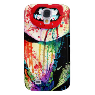 Try Me - Pop Art Rainbow Horror Portrait Galaxy S4 Cases