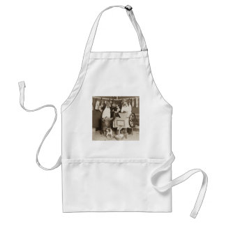 Try Our Sausages! You Get What You See Us Make Adult Apron
