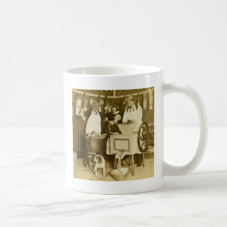 Try Our Sausages! You Get What You See Us Make Coffee Mug