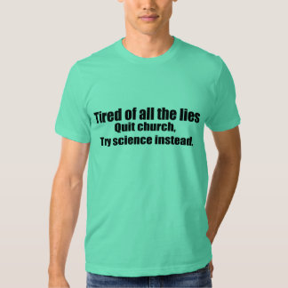Try Science Instead Shirt