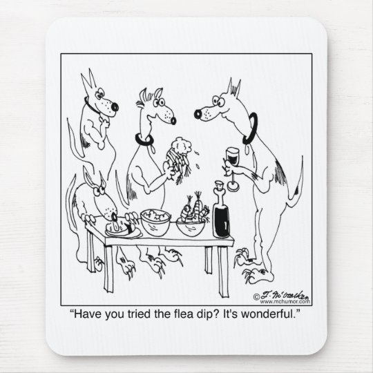 Try The Flea Dip Mouse Pad
